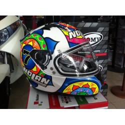 casco GEMINI REPLICA C. DAVIES SEPANG - motoGP helmets 66 metal white