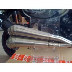 Kawasaki Z-750 . 2008 al 2014 TERMINALE SCARICO LASER X-treme exhausts