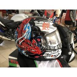 CASCO SUOMY APEX JAP  colore RED