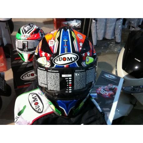 CASCO SUOMY HALO  REPLICA motogp-sbk FULL FACE